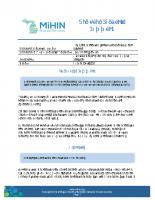 Newborn Screening – CCHD Use Case Scenario Summary