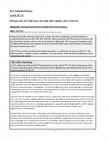 Single Sign-On Use Case Summary