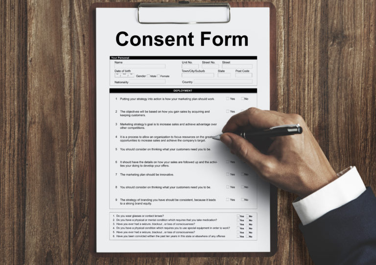 Consumer Consent Information